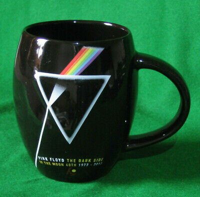 PINK FLOYD DARK SIDE OF THE MOON 40th ANNIVERSARY EMBOSSED TEA / COFFEE MUG.