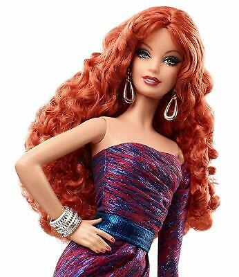 Rare Boxed - The Barbie Look - City Shine - Limited Edition - Redhead - #CJF50