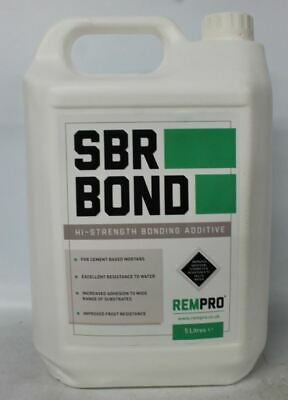 NEW REMPRO SBR Bond High-Strength Bonding Additive For Cement Based Mortar 5L