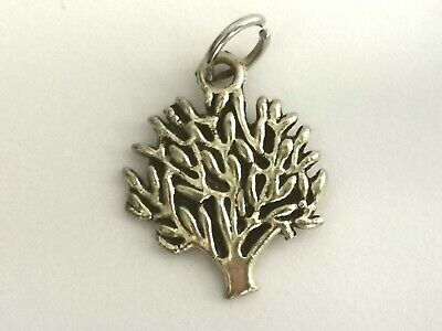 Lovely Silver Tone Tree Of Life Pendant - Metal Detecting Find