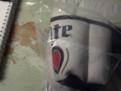 "Miller Lite ""Canny Pack"" / Fanny Pack for beer with Attached  Koozie - NEW IN PK"