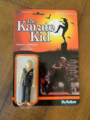 "Funko The Karate Kid Johnny Lawrence 3 3/4"" Reaction Action Figure NEW NIB"