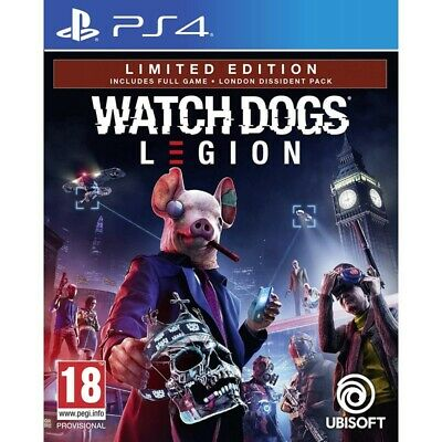 Pre-order 6 March 2020 - Watch Dogs Legion Limited Edition PLAYSTATION 4 PS4