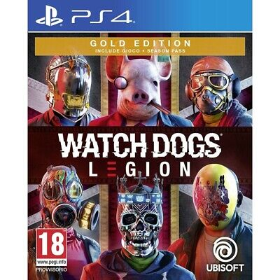 Pre-order 3 March 2020 - Watch Dogs Legion Gold Edition PLAYSTATION 4 PS4