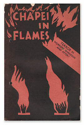 Chapei in Flames / First Edition 1932