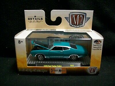 M2 Machines Detroit Muscle 1970 Ford Torino Cobra Limited Edition.