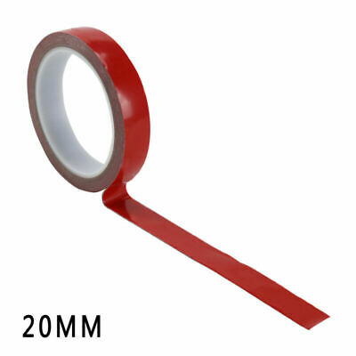 3m x 20mm Vehicle Double Sided Clear Sticker Car Adhesive Acrylic Foam Tape