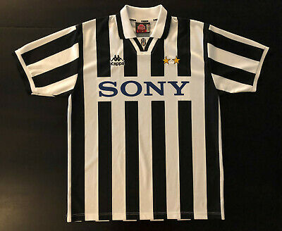 check out 9391b bec9f JERSEY JUVENTUS KAPPA Sony Season 1996/1997 #10 Del Piero ...