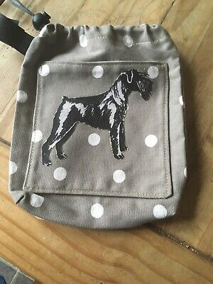 Hand Made Dog Walking Carry Bag Treat / Toy Holder