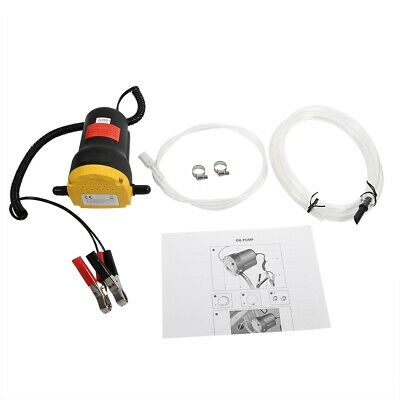 12V Oil Fluid Extractor Transfer Pump Electric Siphon Car Motorbike Remove 60W