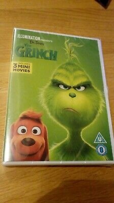 The Grinch - Dvd - New And Sealed