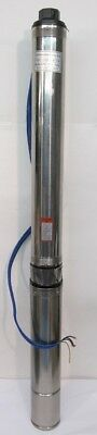 """Submersible Pompe 4 """", 3.0HP, 33GPM, 230 Volts, 190m Max Levage"""
