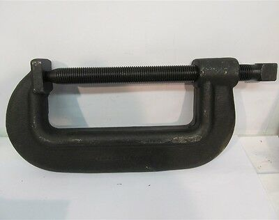 "Wright Tools 90110H, 10-1/2"" Extra Heavy Service Forged C-Clamp Test Load 35,000"