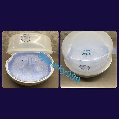 Philips Avent Microwave Steam Steriliser Fast Easy At Home And Away Bpa Free