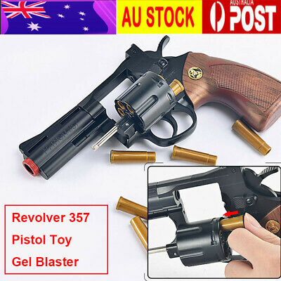 1x Xiao Yue Liang Revolver 357 Gel Blaster Pistol 7mm Bullet Toy Gun AU STOCK