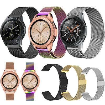 Stainless Steel Magnet Watch Band Strap For Samsung Gear S2/S3 42/46 mm Sport UK