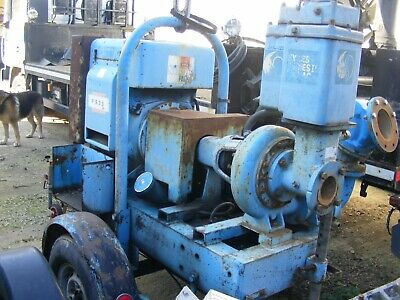 WATER PUMP C/W Hatz diesel engine suit dewatering Used