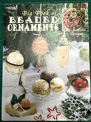 Make Your Own Beaded Ornaments PB Book - 71 Designs Leisure Arts No 1973