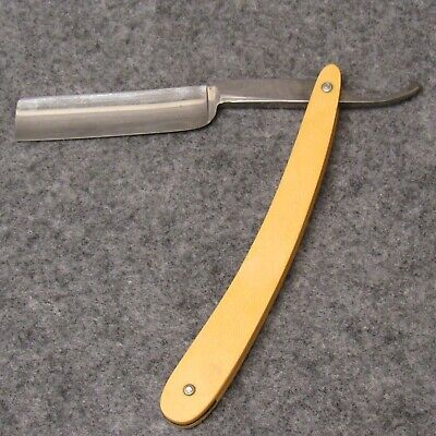 """Case Brothers Little Valley NY 6-1/2"""" Straight Razor Tested XX Ivory Celluloid"""