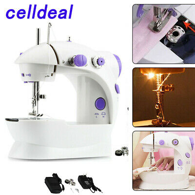 Mini Portable Hand-held Clothes Sewing Machine Home Travel LED Electric DIY