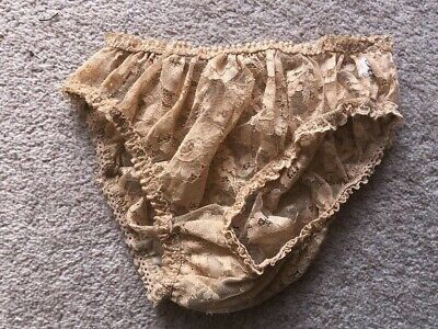 True Vintage Knickers Pants Lacy French Size 44