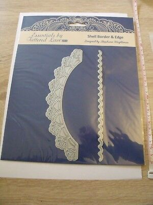 Essentials by Tattered Lace Cutting Metal Dies Shell Border & Edge