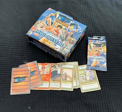 Box 30 Buste One Piece Card Game Mare Orientale