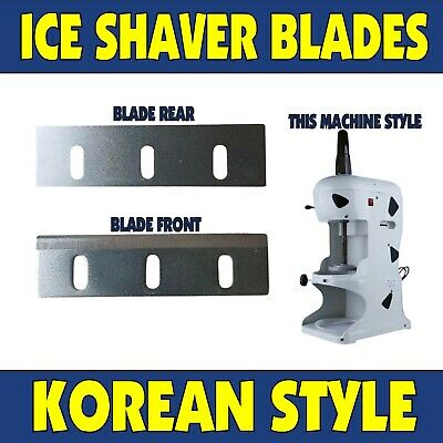 Korean Ice Machine Blades Taiwan Shaved Ice Shaver Blade Sno Snow Cones