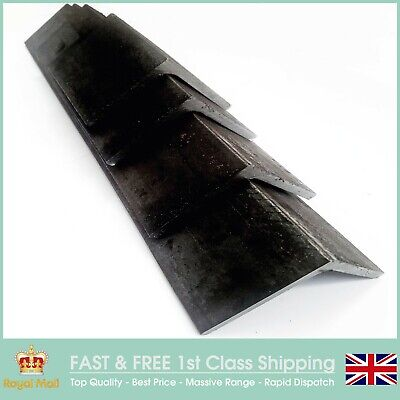 ANGLE IRON MILD STEEL SIZES 20 x 20 30 x 30 40 x 40MM x 3mm 5 lengths x 1.4Mtr