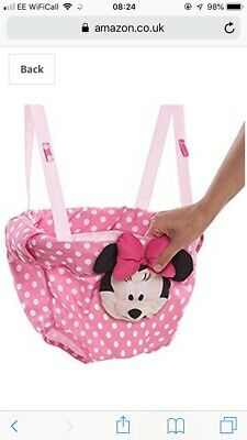 Bright Starts Disney Baby Minnie Mouse Door Jumper//Bouncer│Padded Seat│+6 Months