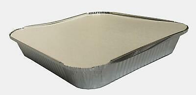 Large Aluminium Catering Foil Food Storage Take Away Containers with Lids No 9