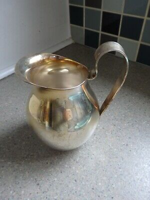 Large Silver Plated Wine / Water Jug ~ By ' David Andersen ' Of Norway
