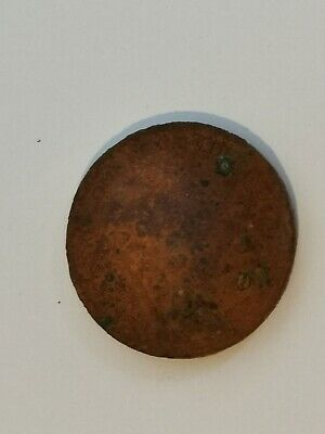 Antique Victorian Penny - Metal Detecting Find