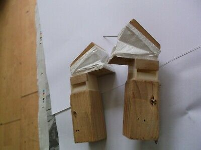 A Pair Of Bellows From An Old Cuckoo Clock