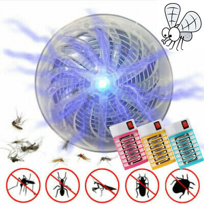 Electric/Solar Mosquito Killer Trap Pest Zapper LED Lamp Killer Insect Repellent