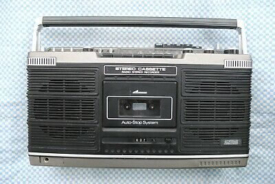 💥Amstrad Radio Stereo Recorder Model 6050 Fully Working 💥