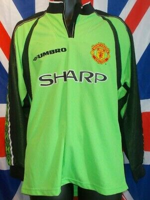 Manchester United Goalkeeper Shirt 1998-1999 Treble Season CL Final (M)