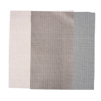 BBQ Grill Mesh Non-Stick Heat Resistance Improve Thermal Conductivity Mat SC