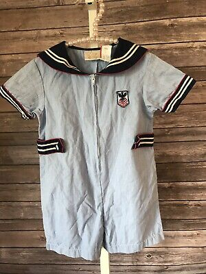 Vintage Little Bitty Toddler Boys Sailor Outfit Size 3T