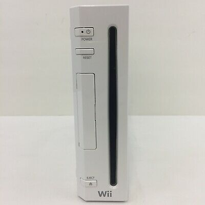 Nintendo Wii Console Only Gamecube Compatible Model No: RVL-001