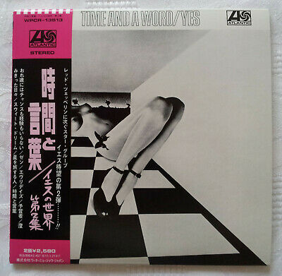 Yes - Time And A Word: Nm Japan Re-Mast'd/Expanded Shm Mini-Lp Cd + Insrts/Obi &