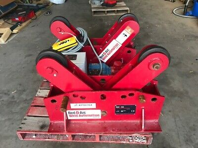 Red D Arc Tank Pipe tube Welding POWER ROLL AND IDLER ROLL