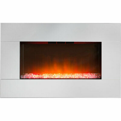 Dimplex Diamantique DIAM14 Pebble Bed Wall Mounted Fire Mirror Glass - BOXED!