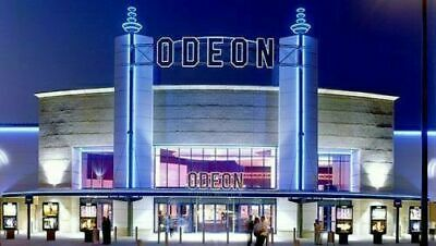 Two X2 Standard Adult Odeon Cinema tickets , Instant Delivery  1day 99p