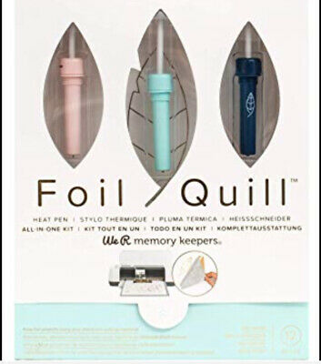 Brand New, WE R MEMORY KEEPERS, FOIL QUILL KIT