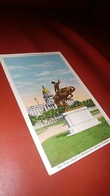 C14-7567, Broncho Buster, Civic Center And State Capitol, Denver, Co