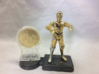 Star Wars POTF C-3PO New Millennium Minted Coin Kenner Hasbro 1998