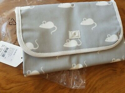 Country Road Baby Change Mat Gift Grey Mouse New With Tags Rrp $40