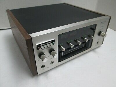 Pioneer 8 Track Player / Recorder H-R100 High Quality - Serviced - New Belts!