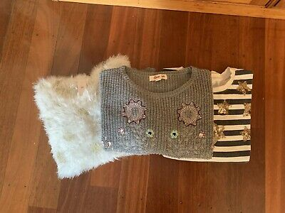Girls Jumpers Size 10 Gum Cotton On Free